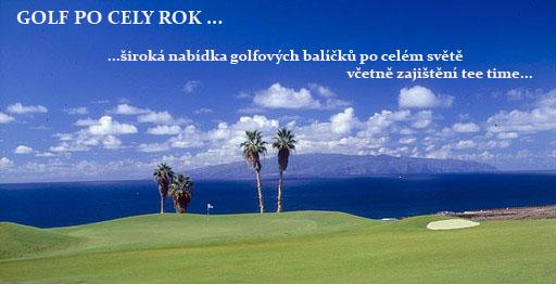 Golf po cely rok